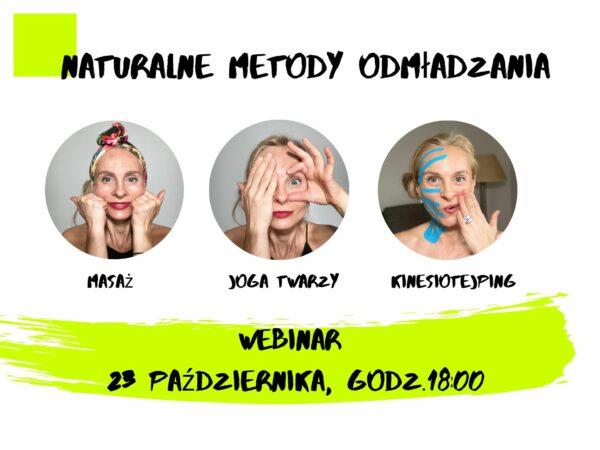 3 metody odmładzania twarzy